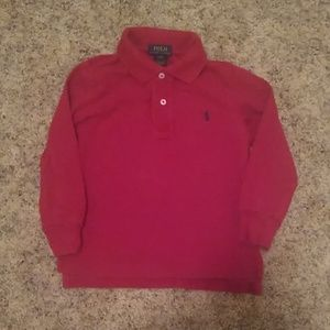 Ralph Lauren long sleeve 2t